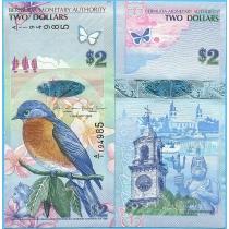 Бермудские острова 2 доллара 2009 год. А/1