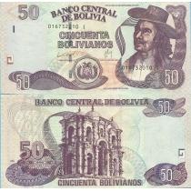 Боливия 50 боливиано 2012 г.
