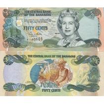 Багамские острова 50 центов 2001 год.