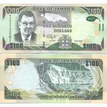 Ямайка 100 долларов 2014 г.