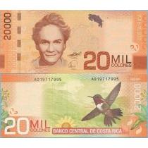 Коста-Рика 20.000 колон 2009 год
