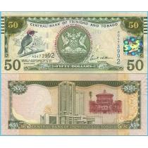 Тринидад и Тобаго 50 долларов 2012 год. Юбилейная.