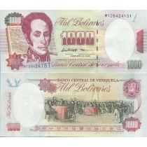 Венесуэла 1000 боливаров 1998 год. Р-76.