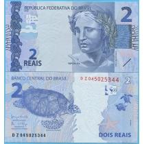 Бразилия 2 реала 2010 год. Серия DZ