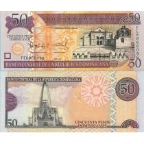 Доминикана 50 песо 2011 г.