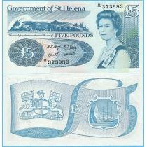 Остров Святой Елены 5 фунтов 1998 год.