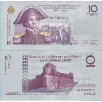 Гаити 10 гурд 2012 г.