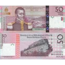 Гаити 50 гурд 2014 г.