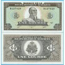 Гаити 1 гурд 1989 год.