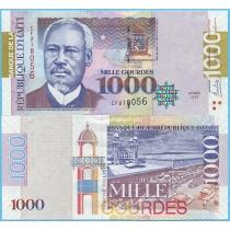 Гаити 1000 гурд 2015 год. 250 лет основания Порт-о-Пренс.
