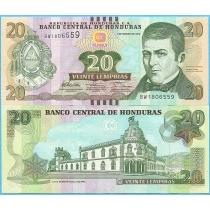 Гондурас 20 лемпир 2012 год.