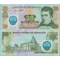 Гондурас 20 лемпир 2008 год.