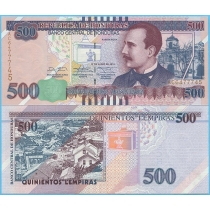 Гондурас 500 лемпир 2014 год.