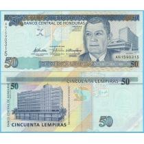 Гондурас 50 лемпир 2010 год.