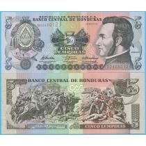 Гондурас 5 лемпир 2010 год.