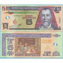 Гватемала 5 кетцаль 2014 год.