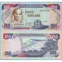 Ямайка 50 долларов 2010 год.