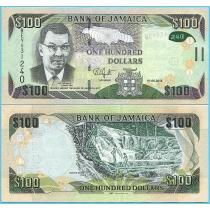 Ямайка 100 долларов 2018 год.