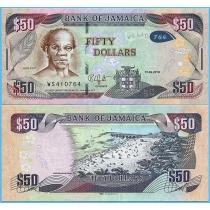 Ямайка 50 долларов 2018 год.