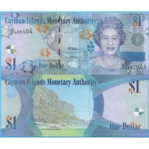 Каймановы острова 1 доллар 2010 год.