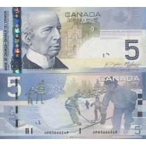 Канада 5 долларов  2010 год. Хоккей.