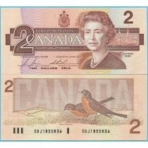 Канада 2 доллара 1986 год. P# 94c