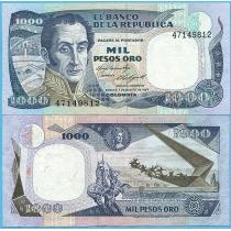 Колумбия 1000 песо 1984 год.