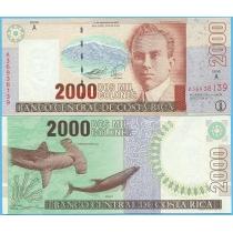 Коста Рика 2000 колон 2005 год.