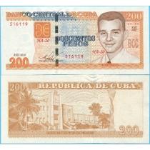Куба 200 песо 2015 год.