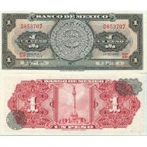 Мексика 1 песо 1970 год.