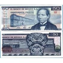 Мексика 1981 г. 50 Песо