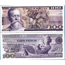 Мексика 1982 г. 100 Песо