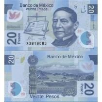 Мексика 20 песо 2012 г.