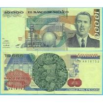 Мексика 10000 песо 1985 год.