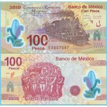Мексика 100 песо 2007 год. 100 лет Революции.