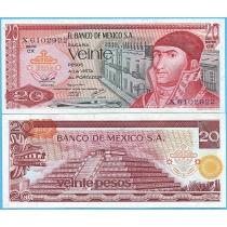 Мексика 20 песо 1977 год.