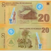Никарагуа 20 кордоба 2007 год.