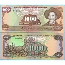 Никарагуа 1000 кордоба 1985 год.