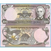 Никарагуа 100 кордоба 1984 год.