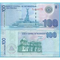 Никарагуа 100 кордоба 2007 год.