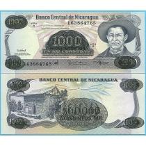 Никарагуа 500.000 кордоба 1987 год.