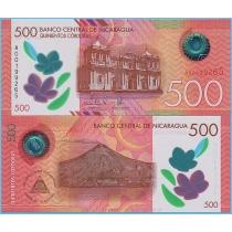 Никарагуа 500 кордоба 2017 год.