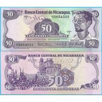 Никарагуа 50 кордоба 1984 год.