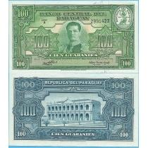 Парагвай 100 гуарани 1952 год.