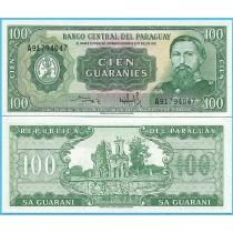Парагвай 100 гуарани 1982 год.