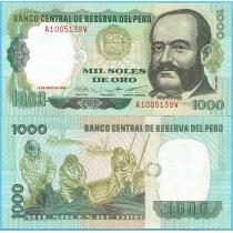 Перу 1000 солей 1979 год.