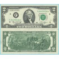 США 2 доллара 1976 год.  P-461F