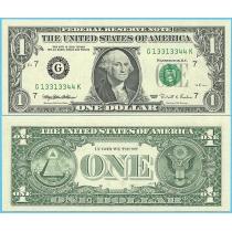 США 1 доллар 1995 год.  P-496aG