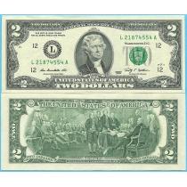 США 2 доллара 2009 год.  P-530AL