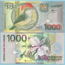 Суринам 1000 гульденов 2000 год.